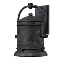 Hinkley 2214GS-LED Pullman 1 Light 14 inch Greystone Outdoor Wall Lantern in LED