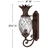 Hinkley 2220CB Plantation 1 Light 21 inch Copper Bronze Outdoor Wall Mount, Small alternative photo thumbnail