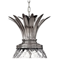 Hinkley 2222PL Plantation 4 Light 13 inch Polished Antique Nickel Foyer Pendant Ceiling Light alternative photo thumbnail