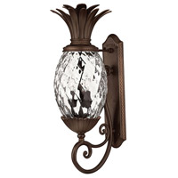 Plantation 3 Light 28 inch Copper Bronze Outdoor Wall Mount