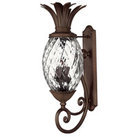 Plantation 4 Light 34 inch Copper Bronze Outdoor Wall Mount