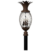 Plantation 4 Light 30 inch Copper Bronze Post Lantern, Post Sold Separately