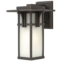 Manhattan LED 12 inch Oil Rubbed Bronze Outdoor Wall Mount