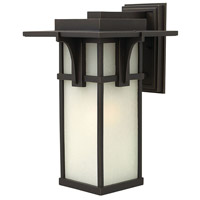 Manhattan 1 Light 19 inch Oil Rubbed Bronze Outdoor Wall Mount in Incandescent