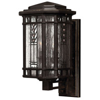 Tahoe 3 Light 17 inch Regency Bronze Outdoor Wall Lantern