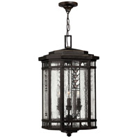 Tahoe 4 Light 12 inch Regency Bronze Outdoor Hanging Light