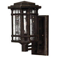 Hinkley Lighting Tahoe 1 Light Outdoor Wall Lantern in Regency Bronze 2246RB