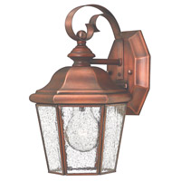 Hinkley Lighting Clifton Beach 1 Light Outdoor Wall Lantern in Antique Copper 2260AP