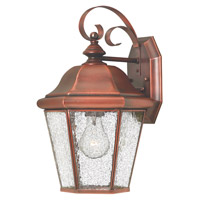 Hinkley Lighting Clifton Beach 1 Light Outdoor Wall Lantern in Antique Copper 2263AP