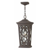 Enzo LED 10 inch Oil Rubbed Bronze Outdoor Pendant