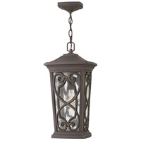 Enzo 1 Light 10 inch Oil Rubbed Bronze Outdoor Hanging Light in Incandescent