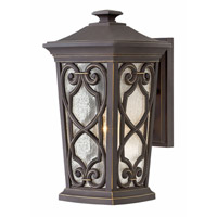 Hinkley 2274OZ-LED Enzo LED 15 inch Oil Rubbed Bronze Outdoor Wall Sconce, Medium