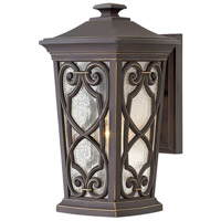 Enzo 1 Light 15 inch Oil Rubbed Bronze Outdoor Wall Mount in Incandescent, Medium