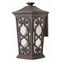 Enzo LED 19 inch Oil Rubbed Bronze Outdoor Wall Sconce, Large