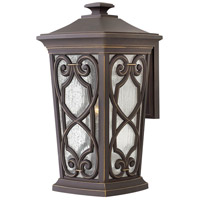 Enzo 1 Light 19 inch Oil Rubbed Bronze Outdoor Wall Mount in Incandescent, Large