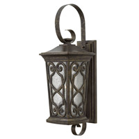 Hinkley 2278AM Enzo 1 Light 29 inch Autumn Outdoor Wall Lantern in Incandescent, Clear Seedy Glass