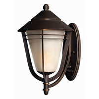 Hinkley Lighting Aurora 1 Light Outdoor Wall Lantern in Metro Bronze 2289MT-ES photo thumbnail