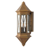 Hinkley Lighting Brighton 1 Light Outdoor Wall Lantern in Sienna 2295SN-ES photo thumbnail