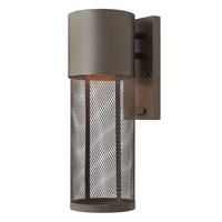 Hinkley Lighting Aria 1 Light Outdoor Wall Lantern in Buckeye Bronze 2300KZ-ES photo thumbnail