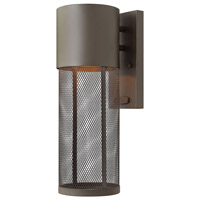 Hinkley Lighting Aria 1 Light Outdoor Wall Lantern in Buckeye Bronze 2300KZ-LED