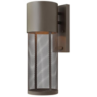 Hinkley 2300KZ Aria 1 Light 14 inch Buckeye Bronze Outdoor Wall Lantern in Incandescent