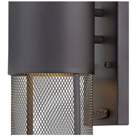 Hinkley 2304BK Aria 1 Light 19 inch Black Outdoor Wall Mount in Incandescent, Medium alternative photo thumbnail