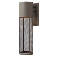 Aria 1 Light 19 inch Buckeye Bronze Outdoor Wall in GU24