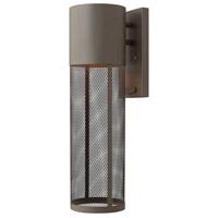 Hinkley Lighting Aria 1 Light Outdoor Wall Lantern in Buckeye Bronze 2304KZ-LED photo thumbnail