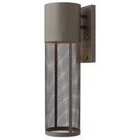 Hinkley 2304KZ-LED Aria LED 19 inch Buckeye Bronze Outdoor Wall Mount