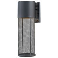 Hinkley 2305BK Aria 1 Light 22 inch Black Outdoor Wall Sconce, Large