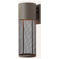 Hinkley Lighting Aria 1 Light Outdoor Wall Lantern in Buckeye Bronze 2305KZ-LED