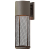 Hinkley 2305KZ Aria 1 Light 22 inch Buckeye Bronze Outdoor Wall Lantern in Incandescent