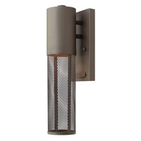Hinkley 2306KZ-GU24 Aria 1 Light 14 inch Buckeye Bronze Outdoor Wall in GU24
