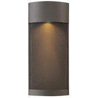 Aria LED 17 inch Buckeye Bronze Outdoor Pocket Wall Mount
