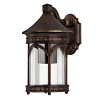 Hinkley Lighting Lucerne 1 Light Outdoor Wall Lantern in Copper Bronze 2310CB-DS