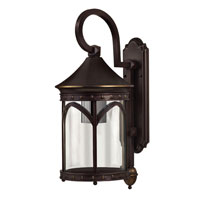 Hinkley Lighting Lucerne 1 Light Outdoor Wall Lantern in Copper Bronze 2314CB-ESDS