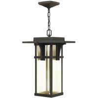 Hinkley 2322OZ-LED Manhattan LED 11 inch Oil Rubbed Bronze Outdoor Hanging Lantern