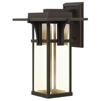 Hinkley Lighting Manhattan 1 Light Outdoor Wall in Oil Rubbed Bronze 2325OZ-LED photo thumbnail