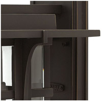 Hinkley 2325OZ Manhattan 1 Light 19 inch Oil Rubbed Bronze Outdoor Wall Mount in Incandescent alternative photo thumbnail