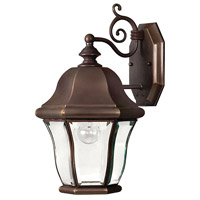 Monticello 1 Light 15 inch Copper Bronze Outdoor Wall Lantern