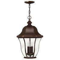 Hinkley 2332CB Monticello 3 Light 13 inch Copper Bronze Outdoor Hanging Light