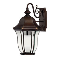 Hinkley Lighting Monticello 1 Light Outdoor Wall Lantern in Copper Bronze 2334CB-DS photo thumbnail