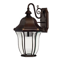 Hinkley Lighting Monticello 1 Light Outdoor Wall Lantern in Copper Bronze 2334CB-ESDS photo thumbnail