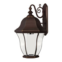 Hinkley Lighting Monticello 1 Light Outdoor Wall Lantern in Copper Bronze 2336CB-DS photo thumbnail