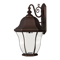 Hinkley Lighting Monticello 1 Light Outdoor Wall Lantern in Copper Bronze 2336CB-ESDS