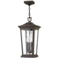 Hinkley 2362OZ Bromley 3 Light 10 inch Oil Rubbed Bronze Outdoor Hanging