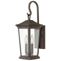 Bromley 2 Light 20 inch Oil Rubbed Bronze Outdoor Wall Mount