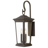 Bromley 3 Light 25 inch Oil Rubbed Bronze Outdoor Wall Mount