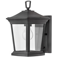Hinkley 2368MB Bromley 1 Light 12 inch Museum Black Outdoor Mini Wall Mount