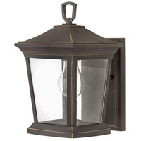 Bromley 1 Light 12 inch Oil Rubbed Bronze Outdoor Mini Wall Mount
